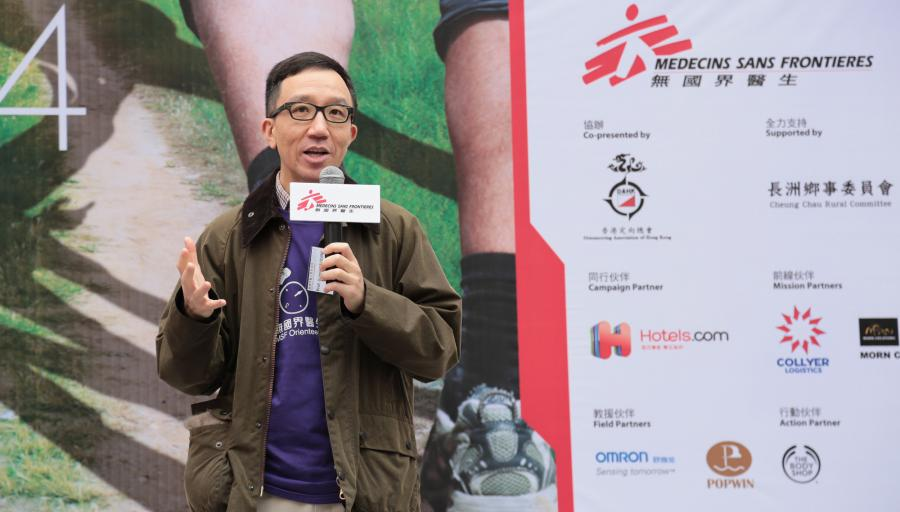 Professor Gabriel Leung hoped that more medical professionals with humanitarian spirit can be trained in Hong Kong to provide medical assistance to wherever it is needed. © Lai HOO